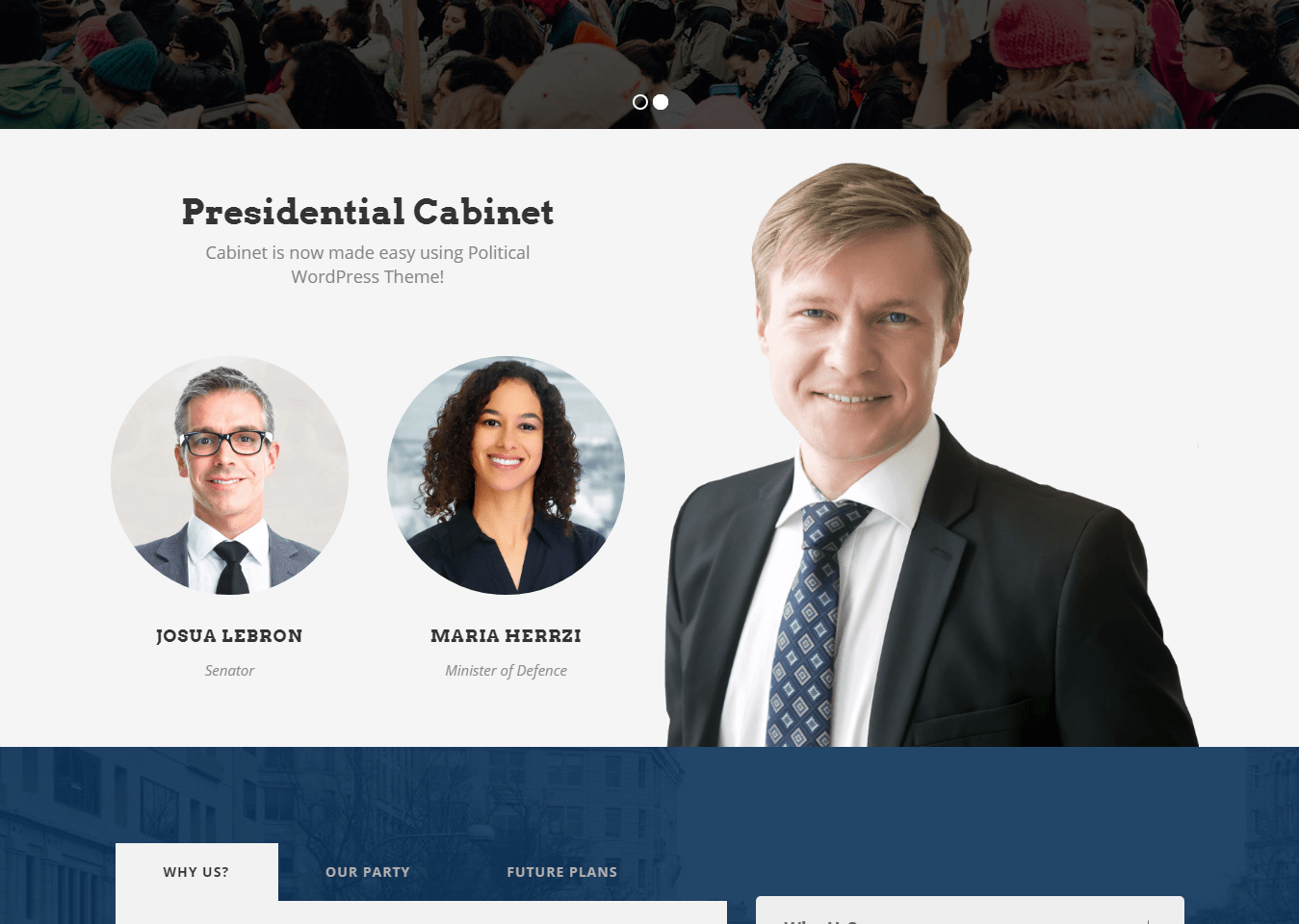 Web Design for Political Committees